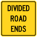 divided-road-ends-tab-sign-Wa-35t